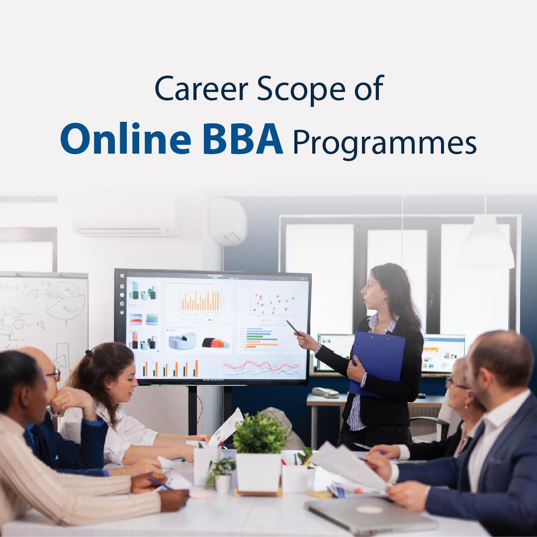 Career Scope of Online BBA Programmes