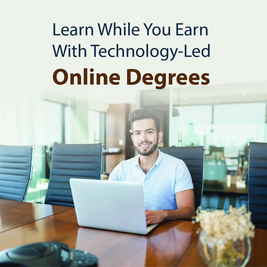 Learn While You Earn With Technology-Led Online Degrees